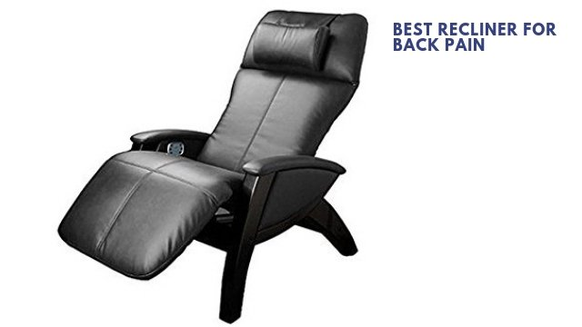best recliner for back pain