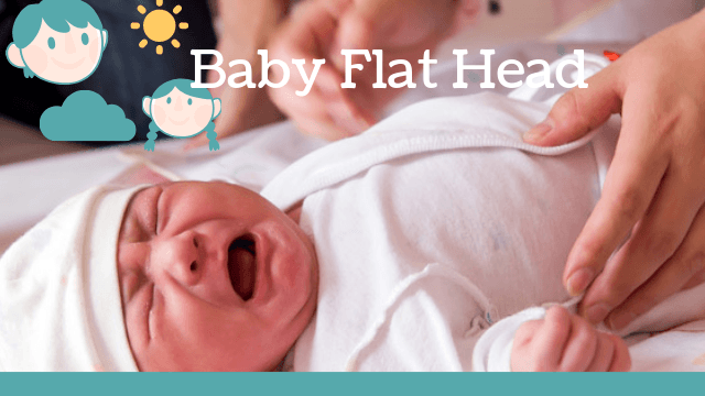 baby flat head when to worry