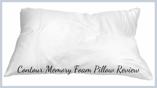 Contour Memory Foam Pillow Review