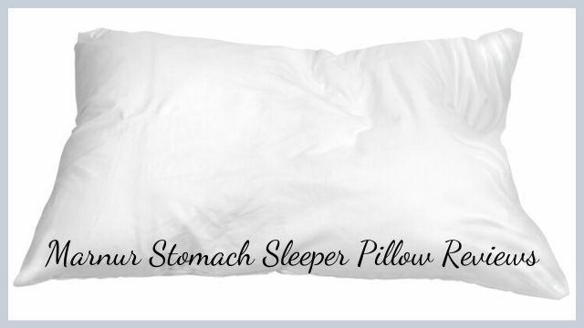 Stomach Sleeper Pillow Reviews