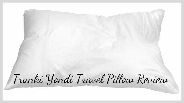 Trunki Yondi Travel Pillow Review