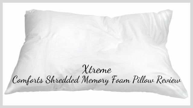 Xtreme Comforts Shredded Memory Foam Pillow Review