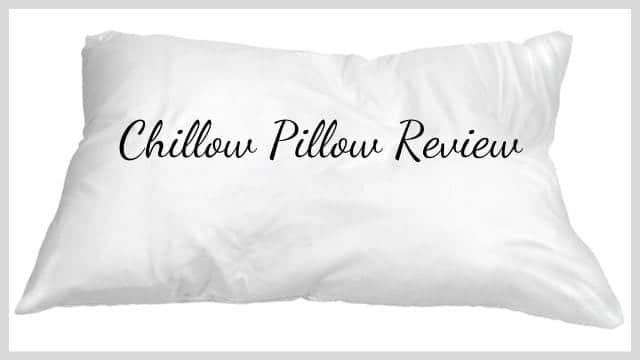 Chillow Pillow Review