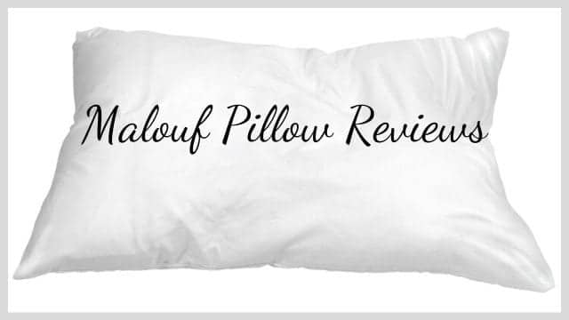 Malouf Pillow Reviews