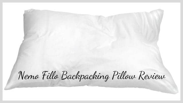 Nemo Fillo Backpacking Pillow Review