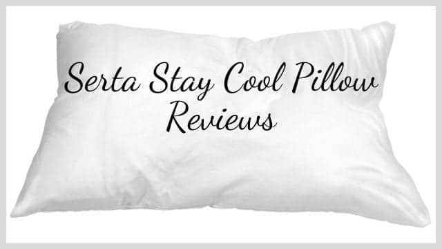 Serta Stay Cool Pillow Reviews