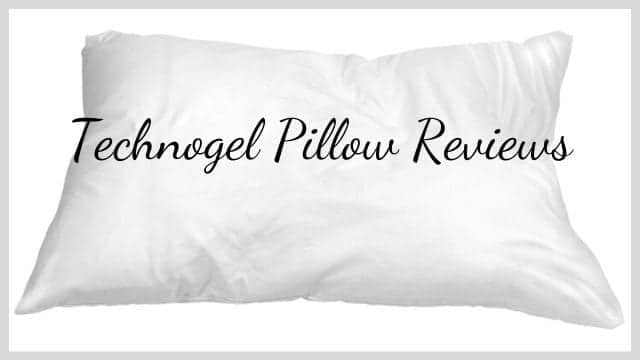 Technogel Pillow Reviews