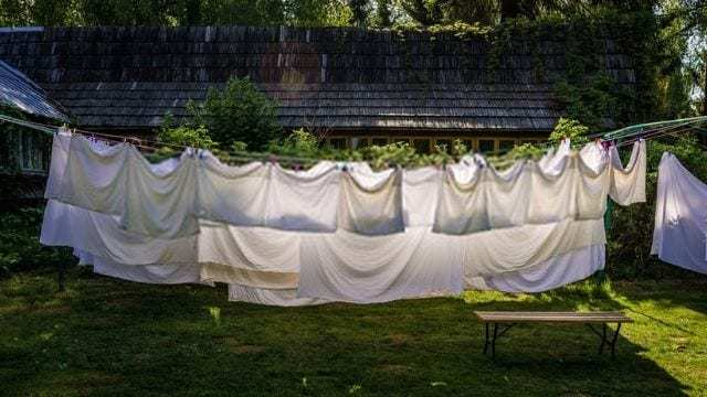 How to dry silk pillowcase